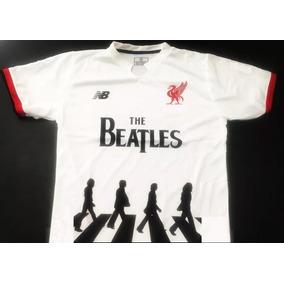 Camiseta Liverpool The Beatles Abbey Road 2018 Lennon