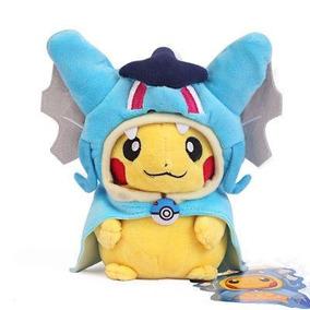 Centro Pokemon Magikarp Pikachu Gyarados Capa Cosplay P-4712