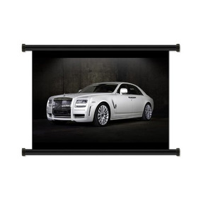 Rolls Royce Ghost Tela Pergamino Cartel (32 X 24) Pulgada