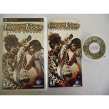 Prince Of Persia Rivals Swords De Psp