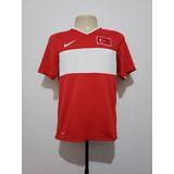Camisa Futebol Oficial Seleção Turquia 2008 Home Nike P E M ee15bca16ac5a