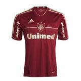 Camisa Fluminense Grená Mc adidas 2011 Nova Zerada Original bfb36be357ee1