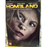 Box Original: Homeland - 5ª Temporada - Lacrado - 4 Dvd