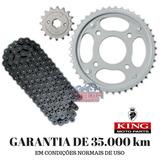 Kit Relacao Transmissao Titan 150 Fan 150 Start 150 Aco 1045