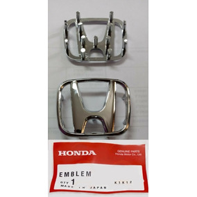 Emblema Honda Civic Fit City Volante Original Alto Brilho