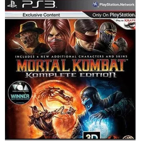 Mortal Kombat 9 Komplet Edition Legendado Br Ps3 Digital Psn
