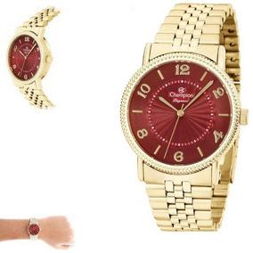357992a4680 Relogio Vermelho Champion - Relógios De Pulso no Mercado Livre Brasil