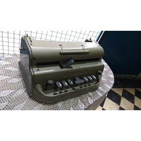Maquina De Escribir Perkins Brailler Metalica Casi Sin Uso