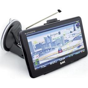 Gps Bak 7009 Tela 7 Usb Tv Digital C/ Suporte, S/ Camera Ré