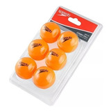 Kit 6 Bolas De Ping Pong Speedo