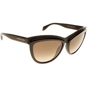 d948dbd35b Gafas De Sol Alexander Mcqueen Cateye En Negro Amq 4247s 3b6