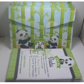 50 Convite Personalizados +envelope+ Adesivo