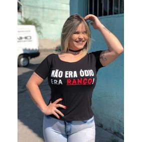db778ce3bb Max T Shirt Feminina - Camisetas no Mercado Livre Brasil