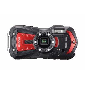 Câmera Digital Ultra Resistente Ricoh Wg-60 À Prova D