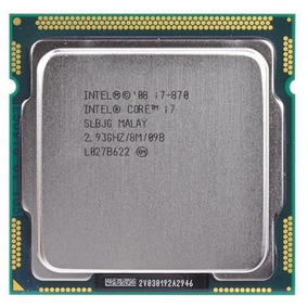 Proc Desk Intel 1156 Core I7-870 2.93ghz Oem