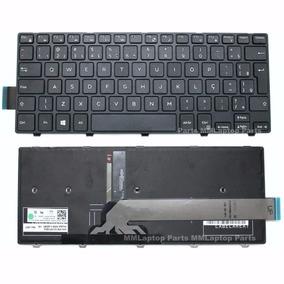 Teclado Retroiluminado Para Dell Inspiron I14-5448 P49g Novo