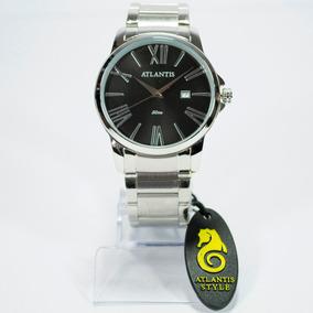 a6a34162189 Relogio Masculino Prateado Original Numeros Em Romanos - Relógios no ...