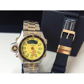 f1ea36e7a51 Relogio Atlantis G3216 Serie Ouro - Relógios no Mercado Livre Brasil