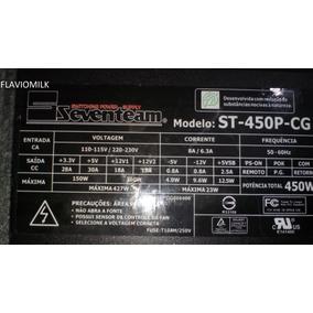 Fonte Seventeam St- 450p-cg Semi Nova R$80,00