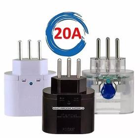 Protetor Energia Clamper Surtos E Raios 3 Pinos 20a Transp.