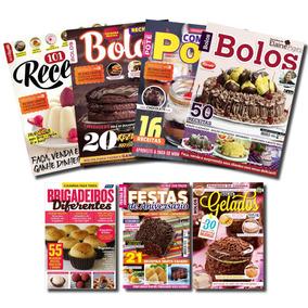 Kit Revistas De Bolos E Doces Para Fazer E Ganhar Dinheiro