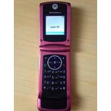 Celular Motorola W220 - Rosa - Raridade