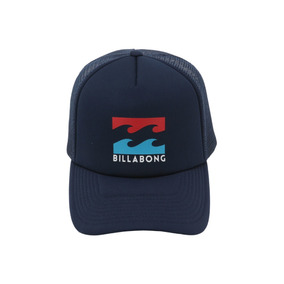 Boné Billabong Trucker Podium Azul Marinho 10821 Original 36a7273a631