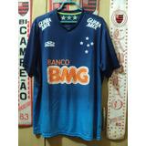 b12b10d685 Camisa Cruzeiro Bmg E Olympikus no Mercado Livre Brasil