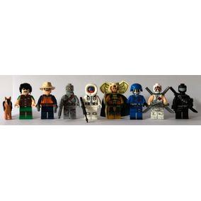 8 Lego Bonecos Figuras Similar Comandos Em Ação Gi Joe Cobra