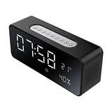 Altavoz Bluetooth Portátil Inalámbrico Cabecera Despertador