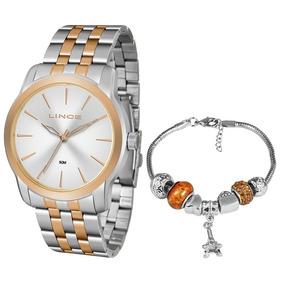 4f0b0af61d5 Relogio Feminino Acompanha Pulseira - Relógio Feminino no Mercado ...