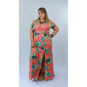 Vestido Longo Plus Size Tucano