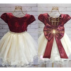 Vestido Festa Infantil Bebês Casamento Aniversário Batizado. 22c1d65954445
