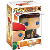Funko Pop Street Fighter Cammy 139 Original Scarlet Kids
