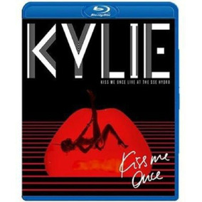 Blu Ray Cd Kylie Minogue Kiss Me Once Live At The Sse Hydro