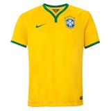 Camisa Nike Cbf Brasil Seleção I Torcedor Oficial 575281-703 be6d957817575