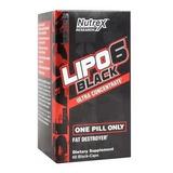 Lipo 6 Black Nutrex 60 Caps Validade 11/2021