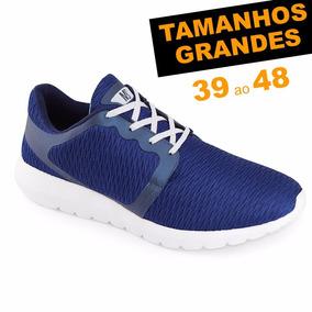 Tênis Ms Snake 1523 Tamanho Grande 44 45 46 47 48 Caminhada