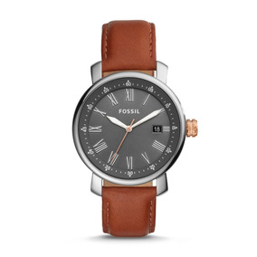 Relógio Fossil Bq2317 Analogico Original Masculino Couro