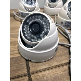 8 Cameras Domo 1/3 Infravermelho 800 Ntsc Lentes 3.6mm