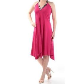 Nuevo Vestido De Mujer Color Rosa Marca Cynthia Rowley
