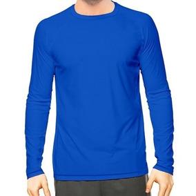 Camisa Masculina Longa Térmica Praia Surfe Proteção Uv 037. 4 cores. R  29  90 fc6da235d1fc8