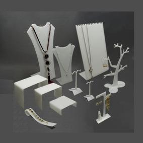 Set Exhibidores Joyería Acrilico Glas