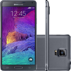 Smartphone Samsung Galaxy Note 4 32gb 16mp - Preto (vitrine)