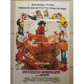 Afiche Original De La Película Un Cuento Americano