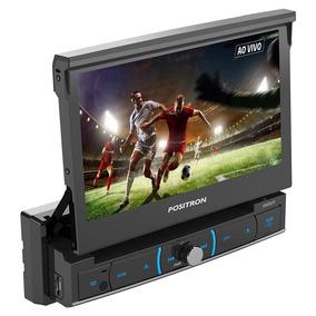 Dvd Player Pósitron Sp6720dtv 7 Pol Bluetooth Tv Digital Usb