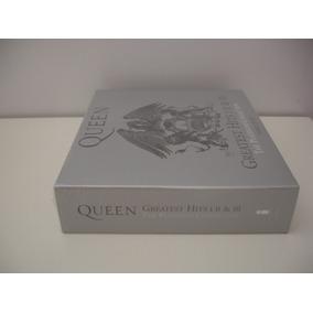 Cd Box Queen Greatest Hits 1, 2 E 3