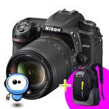 Camara Profesional Nikon D7500 Nueva + Lente 18-140 + Regalo
