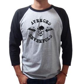 Avenged Sevenfold Playera Rock Raglan -envío Gratis