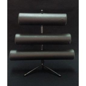 Expositor De Pulseira Triplo De Napa Kit Com 3 Unidades